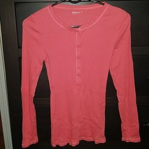 Gap Body ribbed coral top size small